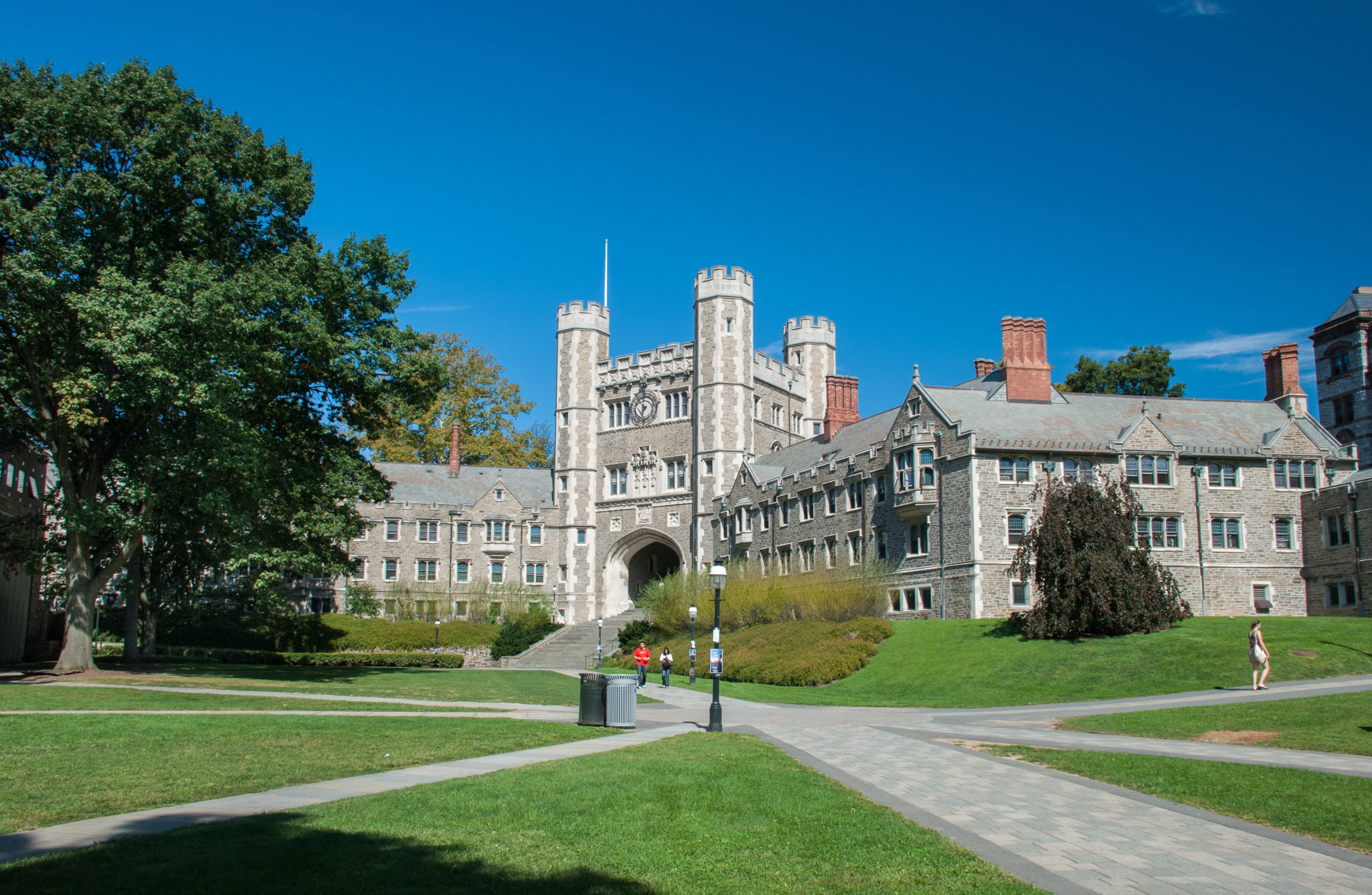 PRINCETON, NEW JERSEY, USA - SEPTEMBER 30, 2009: Princeton University is a private Ivy League research university in Princeton